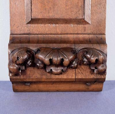 Antique French Gothic Revival Chestnut Wood Corbel/Beam/Pillar