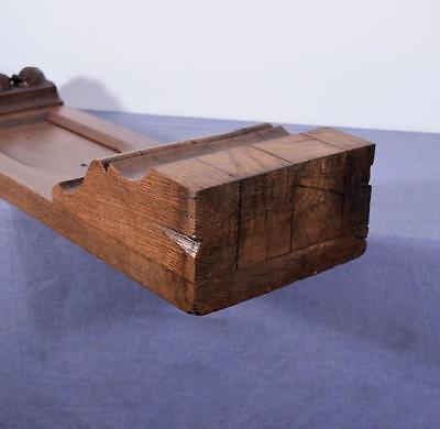 Antique French Gothic Revival Chestnut Wood Corbel/Beam/Pillar 8