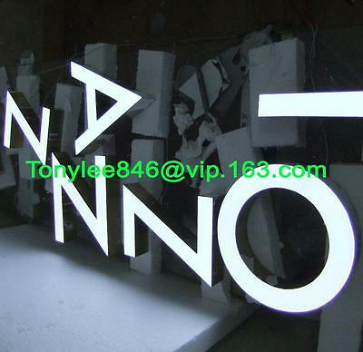 customized led lighting sign letters,building signage channel letters 12'' 2