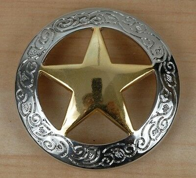 Texas Gold Star Ranger Bottle Opener Key Fob Key Holder or Money Clip Concho