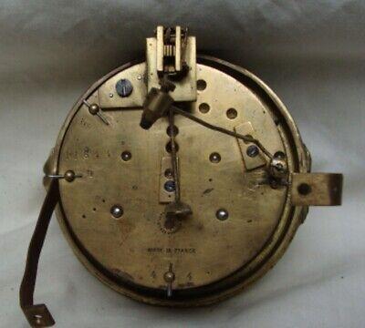 A  J. W. Benson Mahogany, Striking Mantel Clock. 5