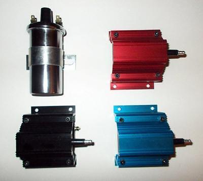 PONTIAC 350-389-400-455 BLUE Small FEMALE Cap HEI Distributor /& SPARK PLUG WIRES