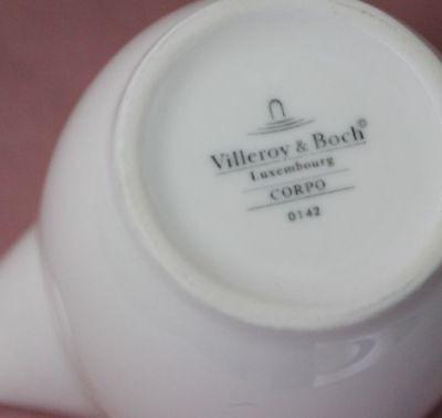 Villeroy Boch V&B Corpo weiß Milchgießer  H7,5 Milchkännchen Sahnekännchen 43533 2