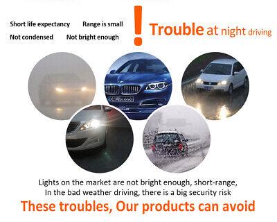 9006 9005 Hi Low Beam COB LED Headlight for Honda Accord 90-2012 Civic 2004-2015 12