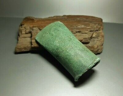 Rare Ancient CELTIC tool Tethered Ax Adze Axe EUROPEAN BRONZE AGE 1500-1000 BC 5
