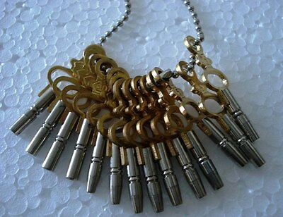 MASTER Set  for all POCKET WATCH  -Total 14 type of Key with Chain (5022) 2