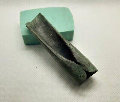 RARE Perfect Ancient  EUROPEAN BRONZE AGE Celtic tool Axe Adze Head 1500-1000 BC 2