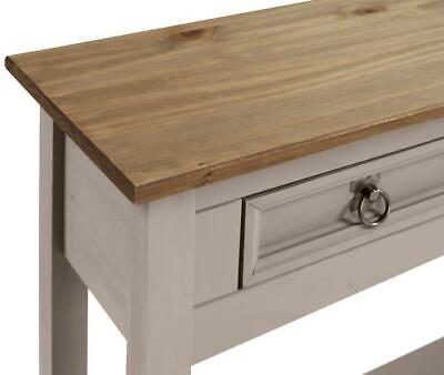 Corona Console Table 3 Drawer Grey Wax by Mercers Furniture® 3