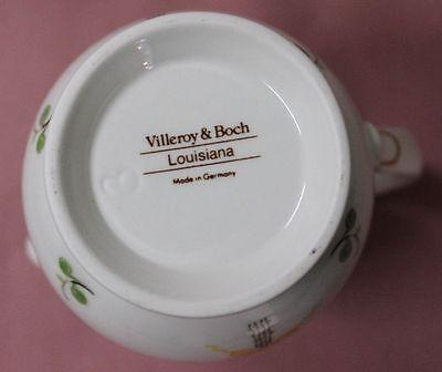 Villeroy Boch V&B Louisiana alt Milchgießer 10,5 H aAusg 0,2 Milchkännchen 33060 2