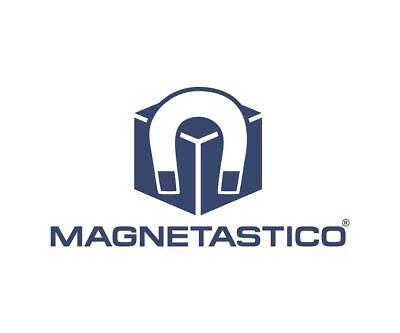 Magnetastico®Starke Neodym Magnete mit Schutzschicht 12x6 mmBunt 8 Farben