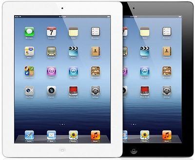 Apple iPad 4th WiFi Tablet RETINA | Black or White | 16GB 32GB 64GB 128GB (R-D) 2