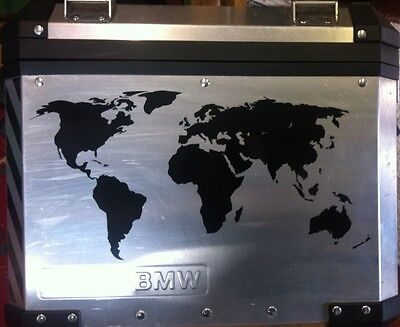 World map alloy pannier stickers decals graphics adventure ktm gsa 1 of 2 world map alloy pannier stickers decals graphics adventure ktm gsa gs adventure gumiabroncs Image collections