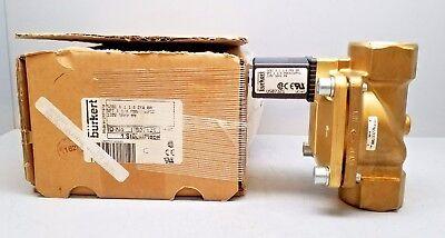 NEW 0340 C 5//16 B BR Brass Valve Burkert 60Hz 120V 08W