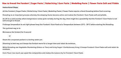 Fondant | Sugar Paste | Ready Rolled Icing | Peach | Cake Craft Bargain 1,2,5 KG 6