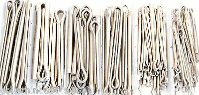 144pc GOLIATH INDUSTRIAL SSLCP144 STAINLESS STEEL LARGE COTTER PIN ASSORTMENT