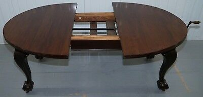 Stunning Victorian James Phillips & Son's Solid Mahogany Extending Dining Table 10