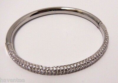 0bf7a0bd2 ... Stone Mini Crystal Bangle Medium M 2014 Swarovski Jewelry #5032846 4