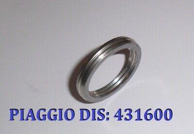original Auspuff Krümmer Dichtung Piaggio TPH 125 SKR 125 150 Quetschring 431600 2