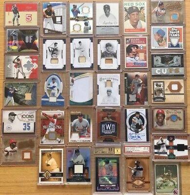 1,000+ AUTOGRAPH BASEBALL CARDS: auto/jersey/relic -3 GUARANTEED HITS! 2