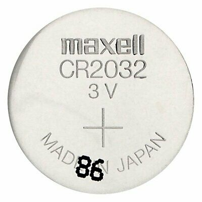 10 MAXELL CR2032 BATTERIES LITHIUM 3V WATCH BATTERY 220mAh DL2032 NEW 2