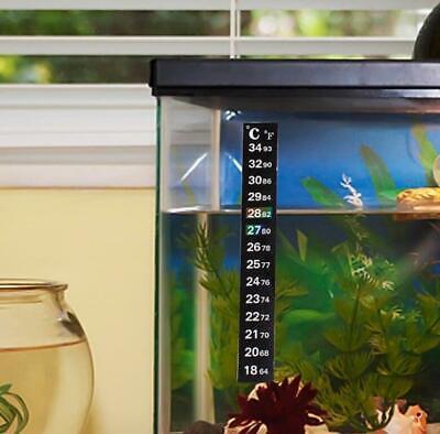Tank Temperature Sticker Adhesive Sticky Scale Aquarium Fish Thermometer 3