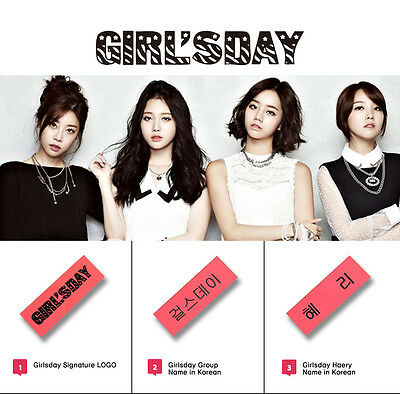 KPOP STAR NAME tag & Gruop name (Delivery within U S )(A~G group name)