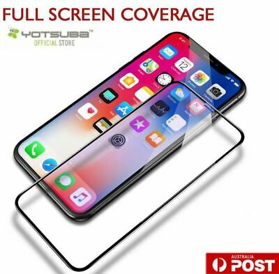 iPhone 11 Pro XS Max XR X 9H Full Coverage Tempered Glass Screen Protector Apple 2