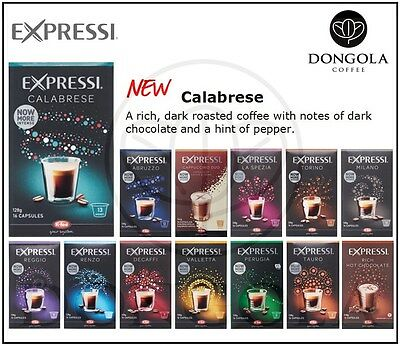 10 BOX (160) You Choose Expressi Automatic Coffee Machine Capsules Pods ALDI 2