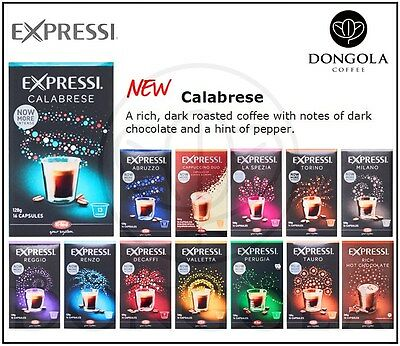 3 BOX (48) Expressi K-fee Automatic Coffee Machine Capsules Pods ALDI You Choose 2