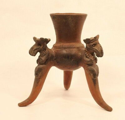 Pre Columbian Costa Rican spider leg Chocolate Pot 3