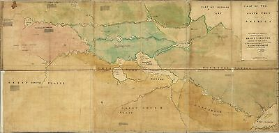 1 of 6free shipping rare historical maps from 18th 19th century show railways indian territory cd