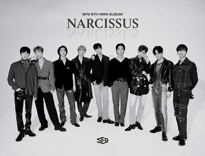 SF9 [NARCISSUS] 6th Mini Album 2 Ver SET 2CD+2PhotoBook+4Card+2Poster(On) SEALED 2
