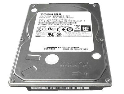 "TOSHIBA 1TB MQ01ABD100V 5400RPM SATA 3.0Gb/s 2.5"" Internal Notebook Hard Drive 2"