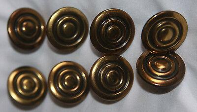 Vintage Bronze Colored Metal Drawer Handles Pulls (12)  & Cabinet Knobs (8) 2