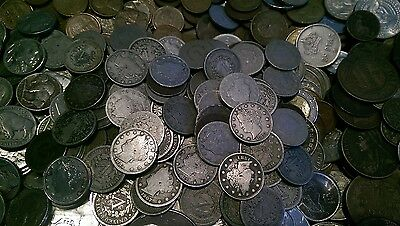 ☆ 50 Coins From Estate Collection ☆ Roman, World, Old Early US 1800s GOLD SILVER 4