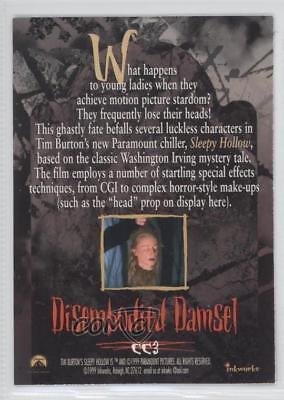 SLEEPY HOLLOW A TIM BURTON FILM 1999 INKWORKS 3 X 5 PROMOTIONAL CARD MOVIE PROMO
