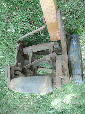Antique American Lawn Mower Vintage Lawnmower Original - Free CA Local Pick Up