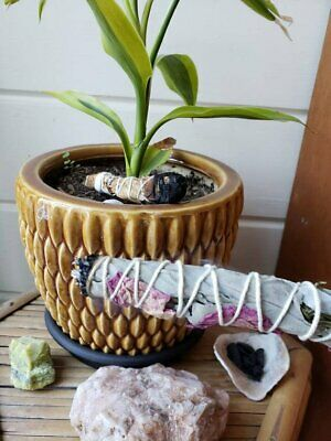 Smudge Stick *Handmade *White Sage,Rosemary,Lavender & Rose *Cleansing *Soothing 4