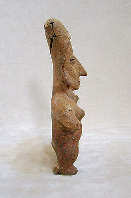 Pre-Columbian JALISCO STANDING FEMALE FIGURE, ca. 300 BC - AD 300 4