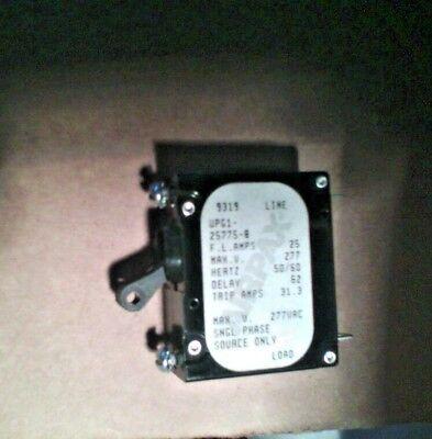 AIRPAX UPG1-25775-7  20 Amp 277 Max Volt 50//60 Hertz Circuit Breaker