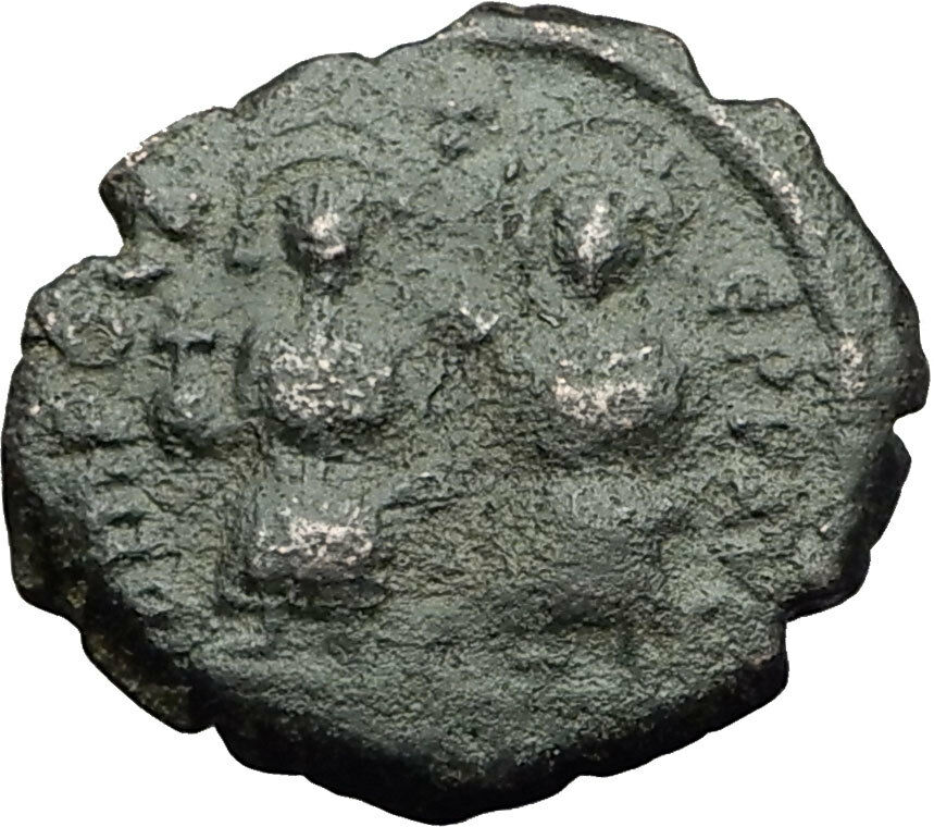 PHOCAS and Empress LEONTINA 602AD Constantinople Ancient Byzantine Coin i59413 2
