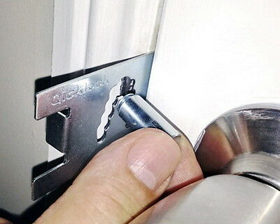 Qicklock - Portable Security Lock - Privacy and Safety Lock - Personal Security