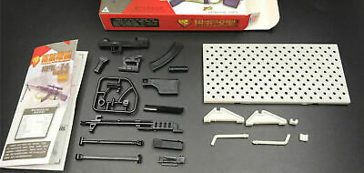1-8pcs 1:6 WWII Rifle Machine Gun Model Puzzles Building Action Figure
