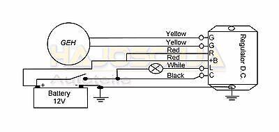 original ducati lima regulator alternator rectifier for. Black Bedroom Furniture Sets. Home Design Ideas