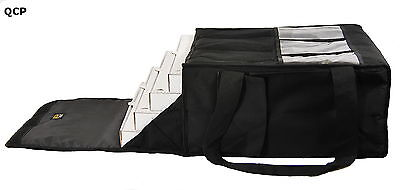 """PIZZA DELIVERY BAG- EXTRA WARM- FULLY INSULATED - LARGE- L18.5"""" x W18.5"""" x H 9"""" 3"""