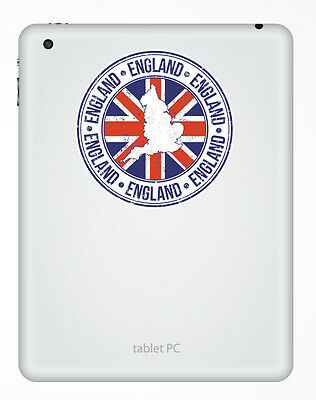 2 x England Britain Vinyl Sticker Laptop Travel Luggage #4382