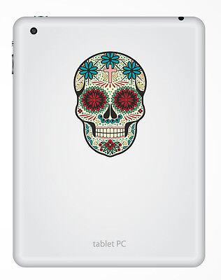 Art Craft Supplies Scrapbooking Stickers 2 X Sugar Skull Vinyl Sticker Laptop Travel Luggage Car 6636 Mtmstudioclub Com