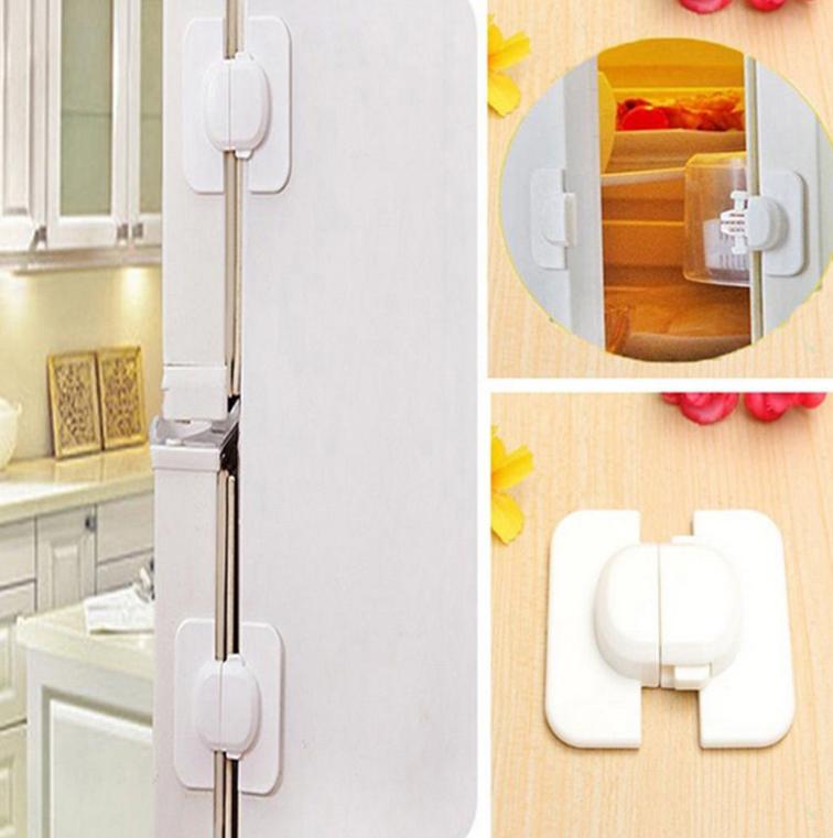 Baby Kids Box Drawer Cupboard Cabinet Wardrobe Door Fridge Safe Safety Lock 8