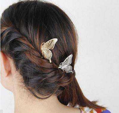 Fashion Women Girls Gold Silver Animal Flower Hairpin Hair Clip Hair Accessories 8