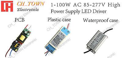 High Power Supply 3W 10W 20W 30W 50W 100W Constant Current COB Chip LED Driver